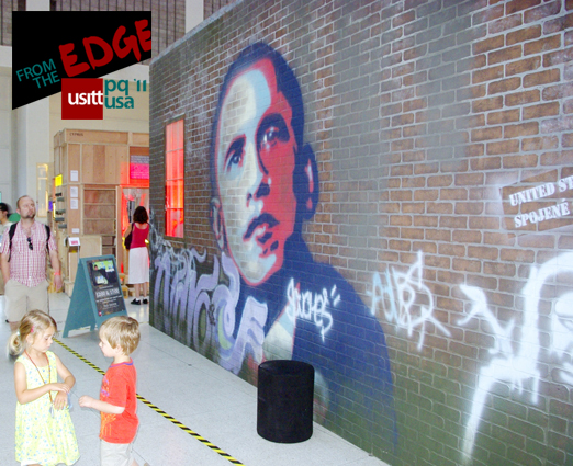 "USITT USA National Pavilion at Prague Quadrennial: ""From the Edge"""