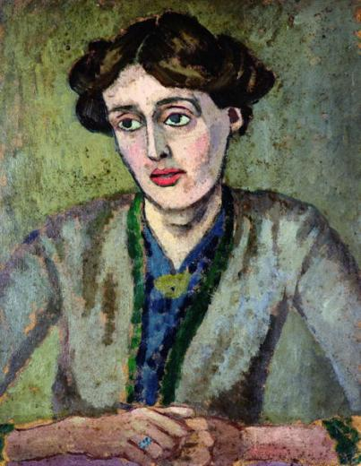 "Portrait of ""Virginia Woolf"" by Roger Fry, 1912"