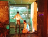 Performance review: Watch a storefront story from a New York sidewalk in this Romanian-American collaboration