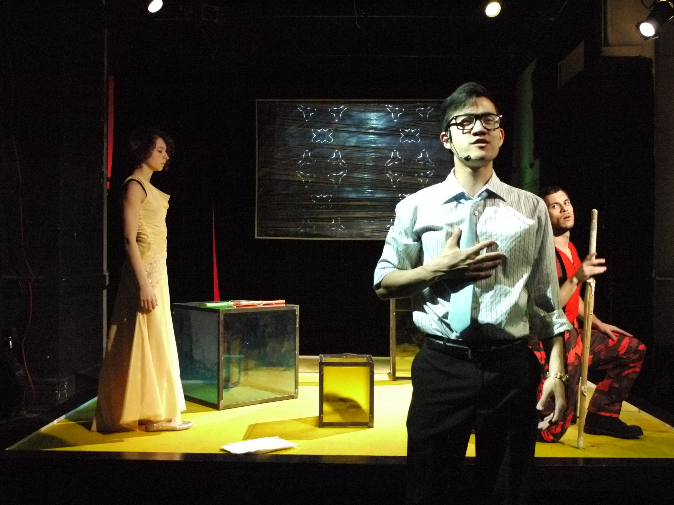 """Mabou Mines workshop pf Kyoung H. Park's play """"Tala"""" in April 2012 
