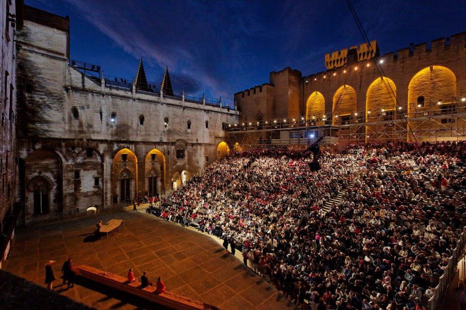 Festival d''Avignon and Christophe Raynaud de Lage pour le Festival d'Avignon