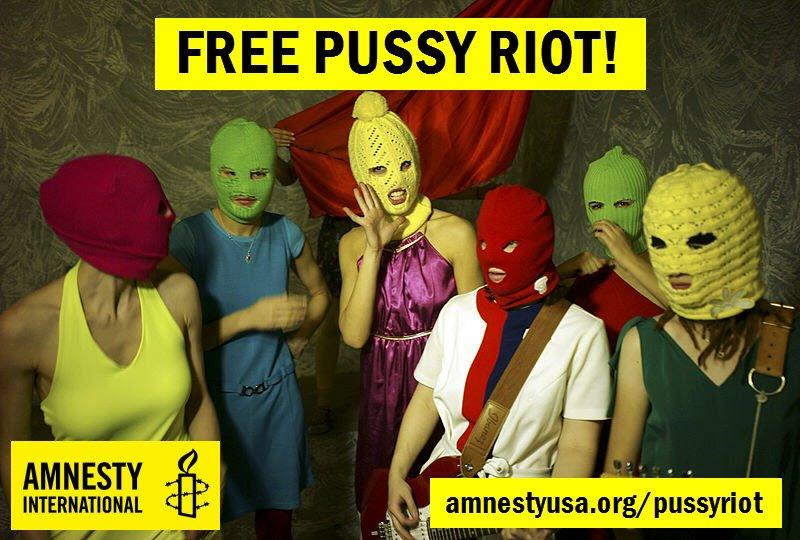 Amnesty International Demands Russia Release Punk Singers Detained Following Church Performance