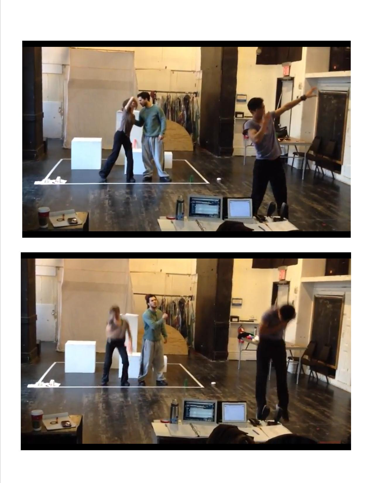 """Developmental workshop at Mabou Mines of Kyoung H. Park's """"Tala"""" in December 2011 
