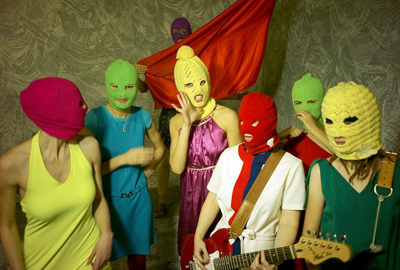 Pussy Riot | Photo by Igor Mukhin