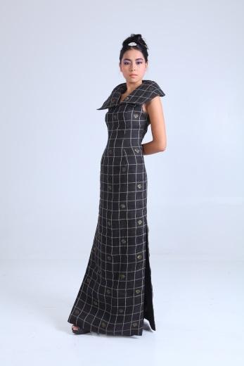 Piña couture fashion from Anthony Cruz Legarda Fashion House and Textile Design Studio