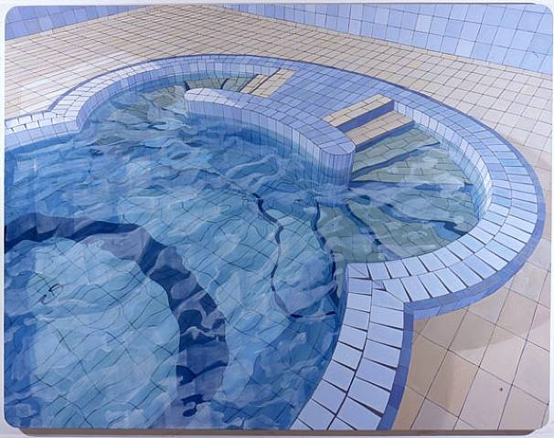 """""""O Húngaro (The Hungarian)"""", oil of canvas (2006) by Adriana Varejao   Lehmann Maupin Inventory"""