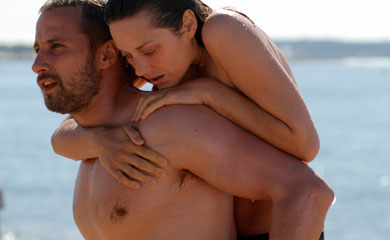 "Matthias Schoenaerts and Marion Cotillard in ""Rust and Bone"" (France)"