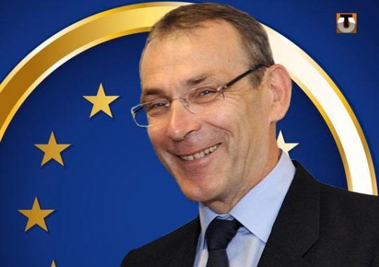 European Union commissioner Andre Piebalgs