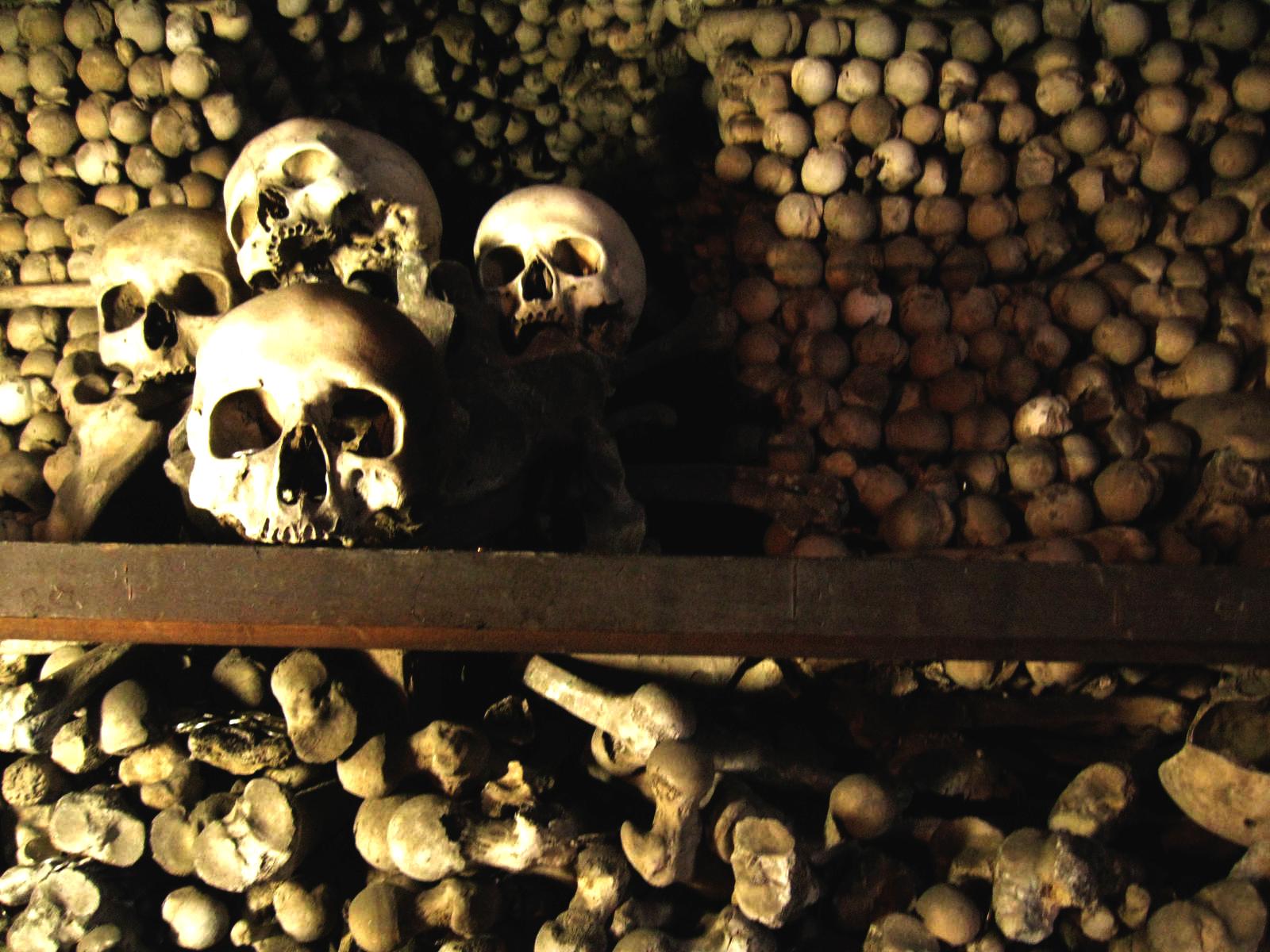 Kostnice (Church of Bones), Kutna Hora, Sedlec Ossuary, The Bone Chapel | Photo by Randy Gener