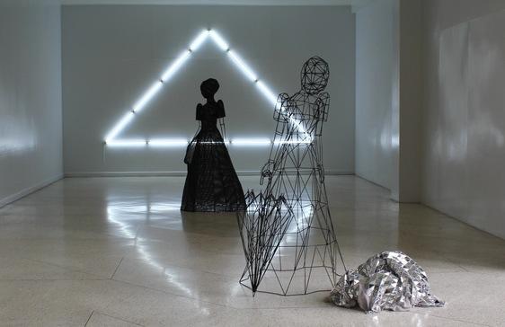 """The Future That Was"" installation by Patricia Perez Eustaquio"