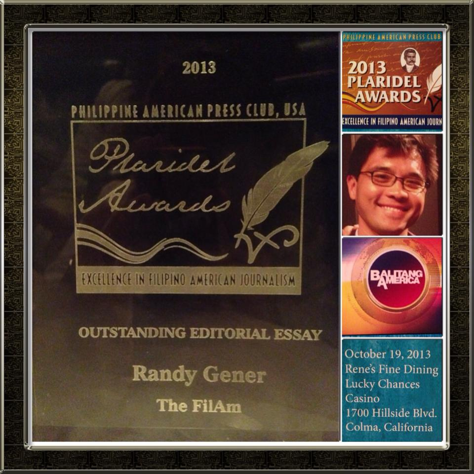 Plaridel Award for Outstanding Editorial Essay