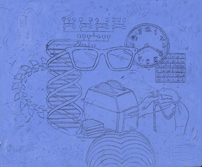 """Philip Smith """"Blue Glasses"""" (2012)"""
