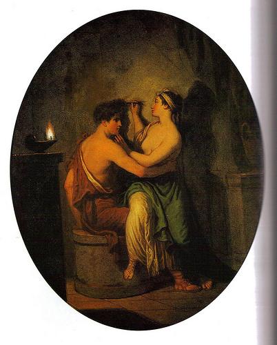 David Allan, Origin of Painting, 1775