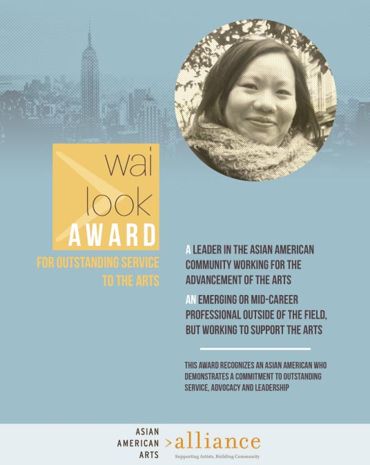 2013 Wai Look Award for Outstanding Service to the Arts