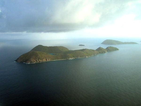 Ginger Island in the Caribbean