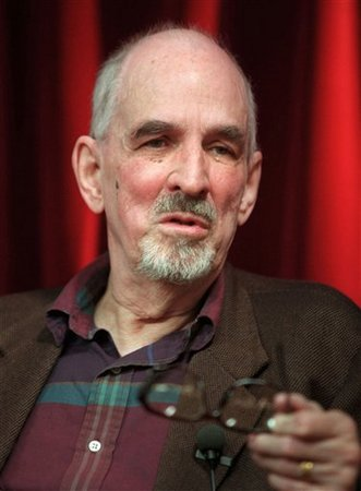 """Swedish film director Ingmar Bergman is seen talking during a press conference in Stockholm in this May 9, 1998 file photo where he presented his latest TV-project """"Faithless."""" He was 89 years old when he died.  