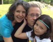 Rebecca Bratspies, B. Allen Shulz and their daughter Naomi