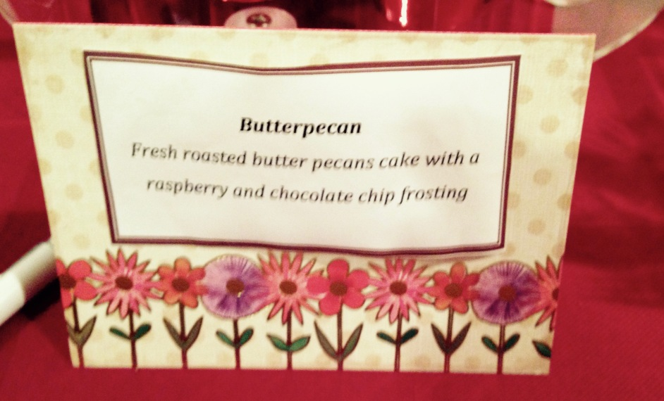 French-roasted butter pecans cake by Yulissa's Creations