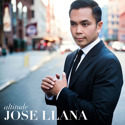 Jose Llana - Altitude - CD Cover