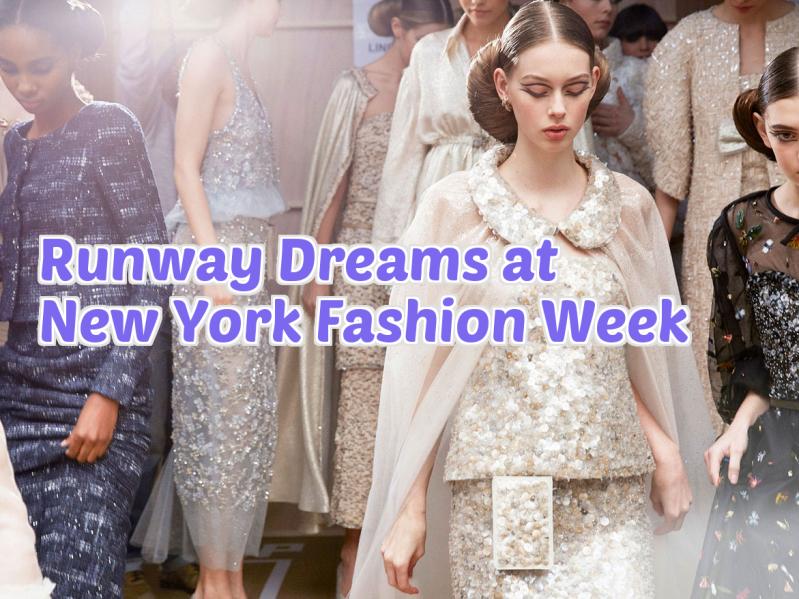 Photo Runway Dreams NY Fashion Week project