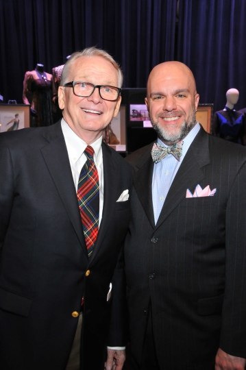 Bob Mackie and Stephen Cabral