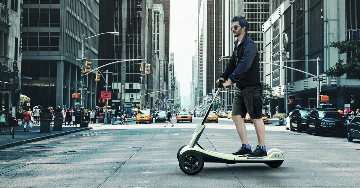 Transboard is perfect for people looking for a personal mobility alternative
