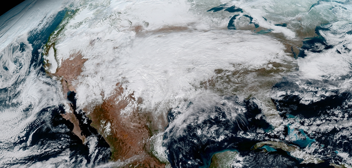 High-Def From Heaven |  New weather satellite sends first images of Earth