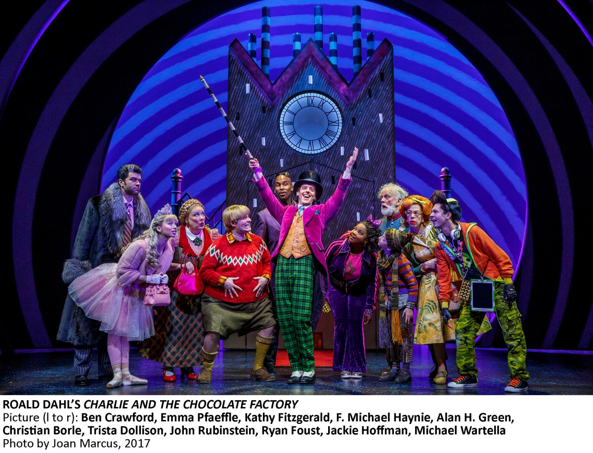 Zero Nominations | Outer Critics Circle disses Broadway's CHARLIE AND THE CHOCOLATE FACTORY