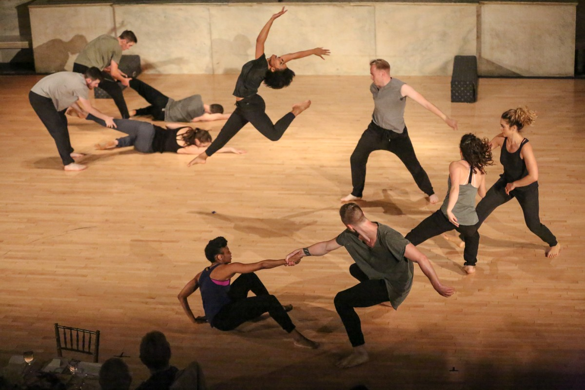 Broadway Dance Lab kicks off a mentorship program for choreographers