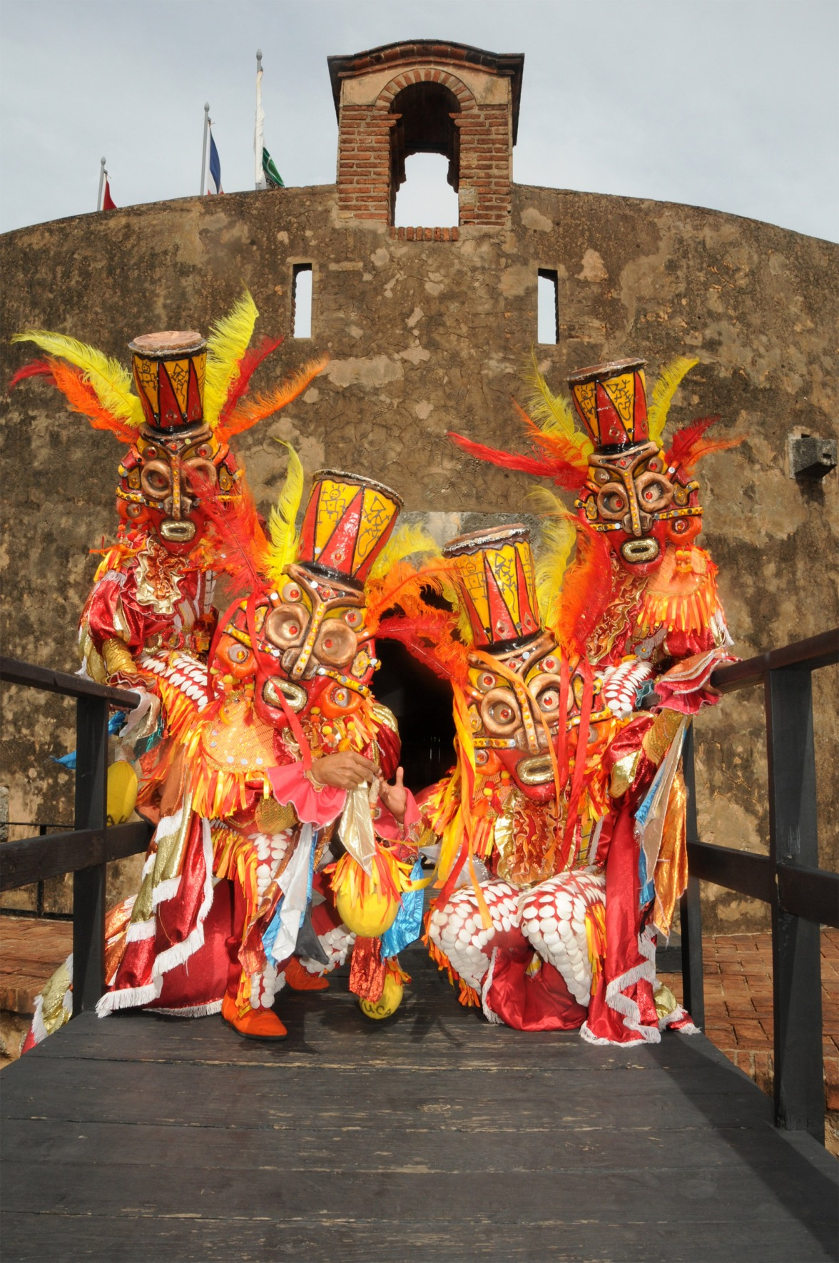 Carnaval at Dominican Republic